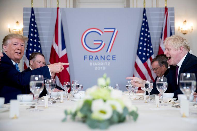 De laatste G7-top was in 2019 in het Franse Biarritz. Beeld AP