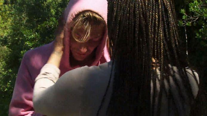 Robbert Rodenburg in tranen bij Dyantha Brooks