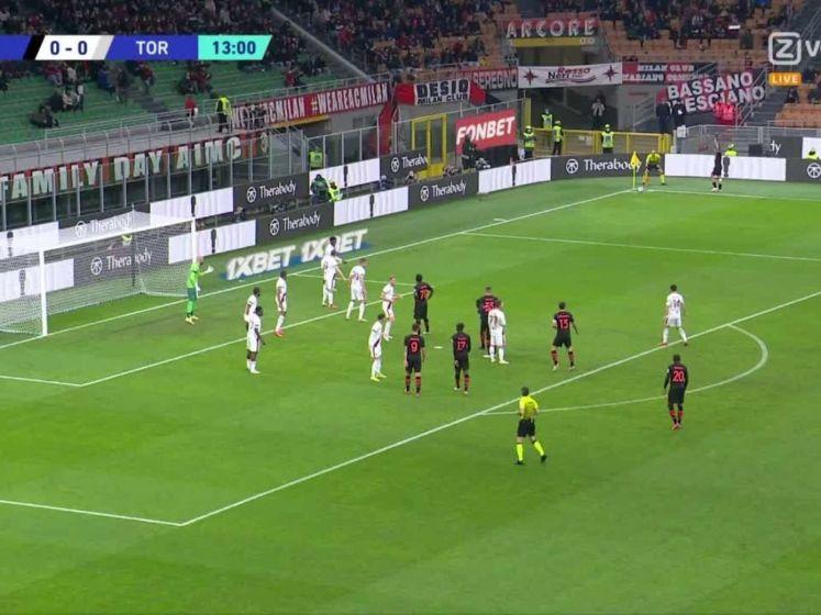 Giroud brengt Milan op voorsprong tegen Napoli