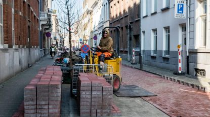 Fietsstraat ondanks kritiek toch aangelegd in klinkers
