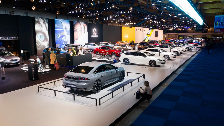 Het autosalon in 2020 op de Heizel.  Beeld BELGAIMAGE