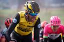 Bram Tankink tijdens de Ronde Van Vlaanderen van 2018.