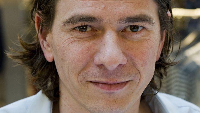 Dimitri Verhulst, de enige Vlaamse auteur die de lijst haalde. © ANP Beeld