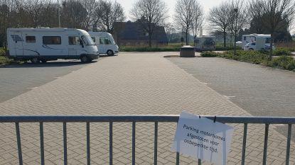 Mobilhomeparking in Grobbendonk afgesloten, één eigenaar mag blijven staan