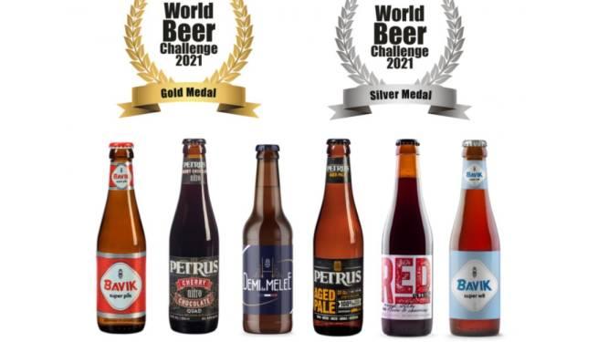 De Brabandere scoort zes medailles op World Beer Challenge