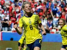 Zweden verder na 'magere' 5-1 overwinning op Thailand