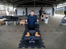 Jonge ondernemer begint sportschool tijdens coronapandemie: 'Geen zin nog een jaar te wachten'