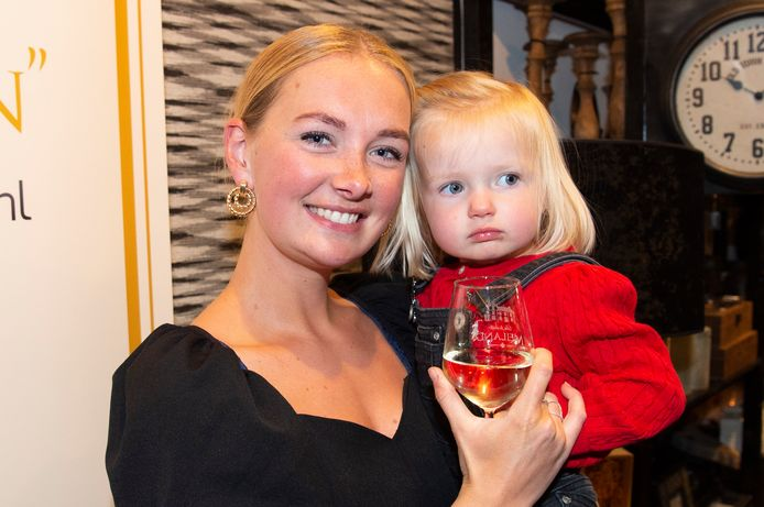 Maxime Meiland met haar dochter Claire.