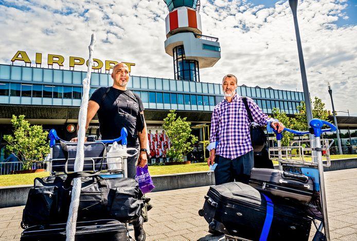 Op Rotterdam The Hague Airport vertrekken de eerste vluchten naar Marokko weer.