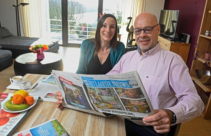 Reader Frédéric Veraghaenne en Céline Mabille wonen in Saint-Marc, een dorpje dat bij Namen hoort