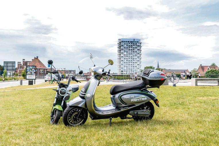 Renties Kortrijk verhuurt nu ook elektrische scooters.