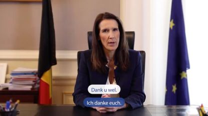 """Premier Wilmès richt zich in video tot jongeren: """"We rekenen ook op jullie"""""""