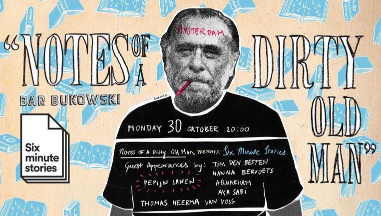 Het Boekjesbal vindt plaats tijdens de literaire avond Notes of a Dirty Old Man in Bar Bukowski Beeld Bar Bukowski