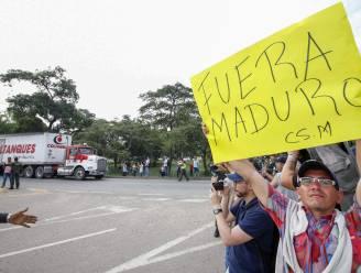 Eerste Amerikaanse humanitaire hulp aan geblokkeerde Venezolaanse grens aangekomen