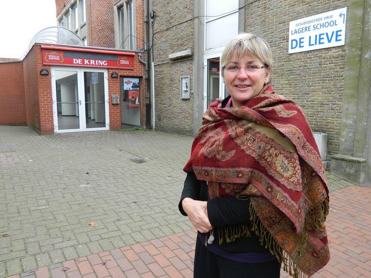 Ann Coopman enkele jaren geleden voor de site van De Kring. Die ombouw was één van haar vele projecten.