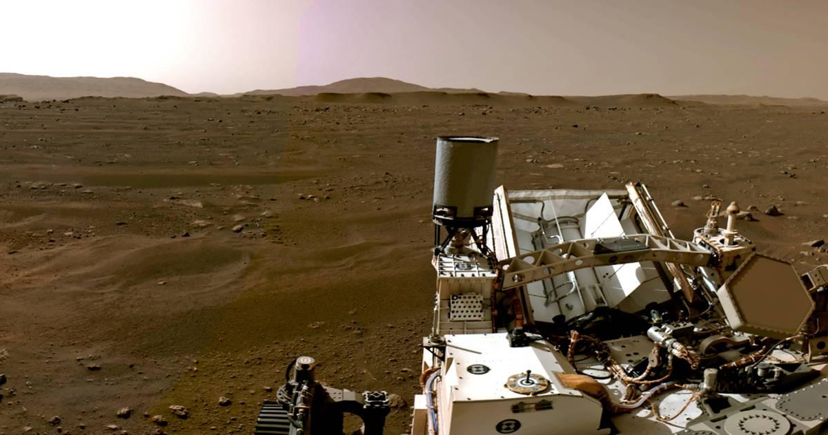 In de zevende hemel met beeld en geluid van Mars: 'NASA brengt de planeet dichter bij de aarde' - AD.nl