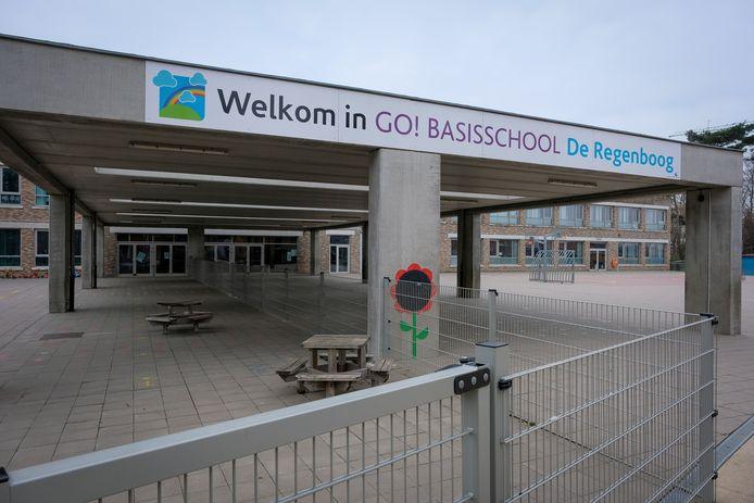L'école primaire De Regenboog à Elewijt, dans le Brabant flamand.