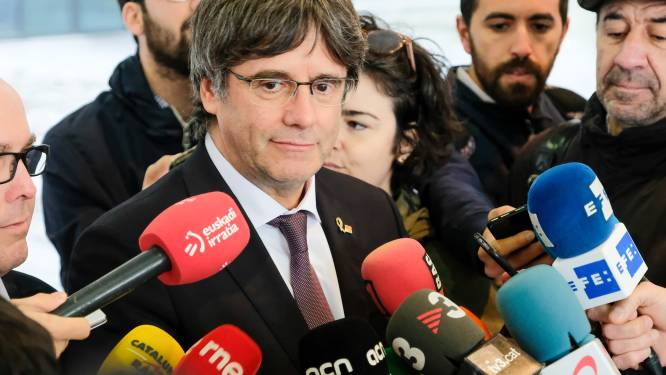 Carles Puigdemont verzet zich tegen overlevering aan Spanje