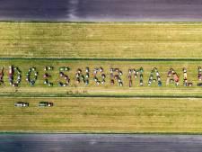 #doesnormaal!!! Overijsselse boeren komen massaal in actie tegen dierenactivisten