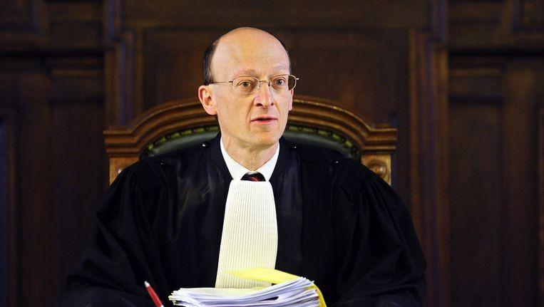 Eerste voorzitter van het Hof van Cassatie, Jean de Codt. Beeld belga
