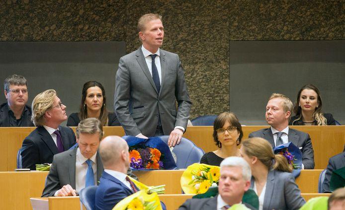 Oud-wethouder Arne Weverling zocht zijn heil in de landelijke politiek.