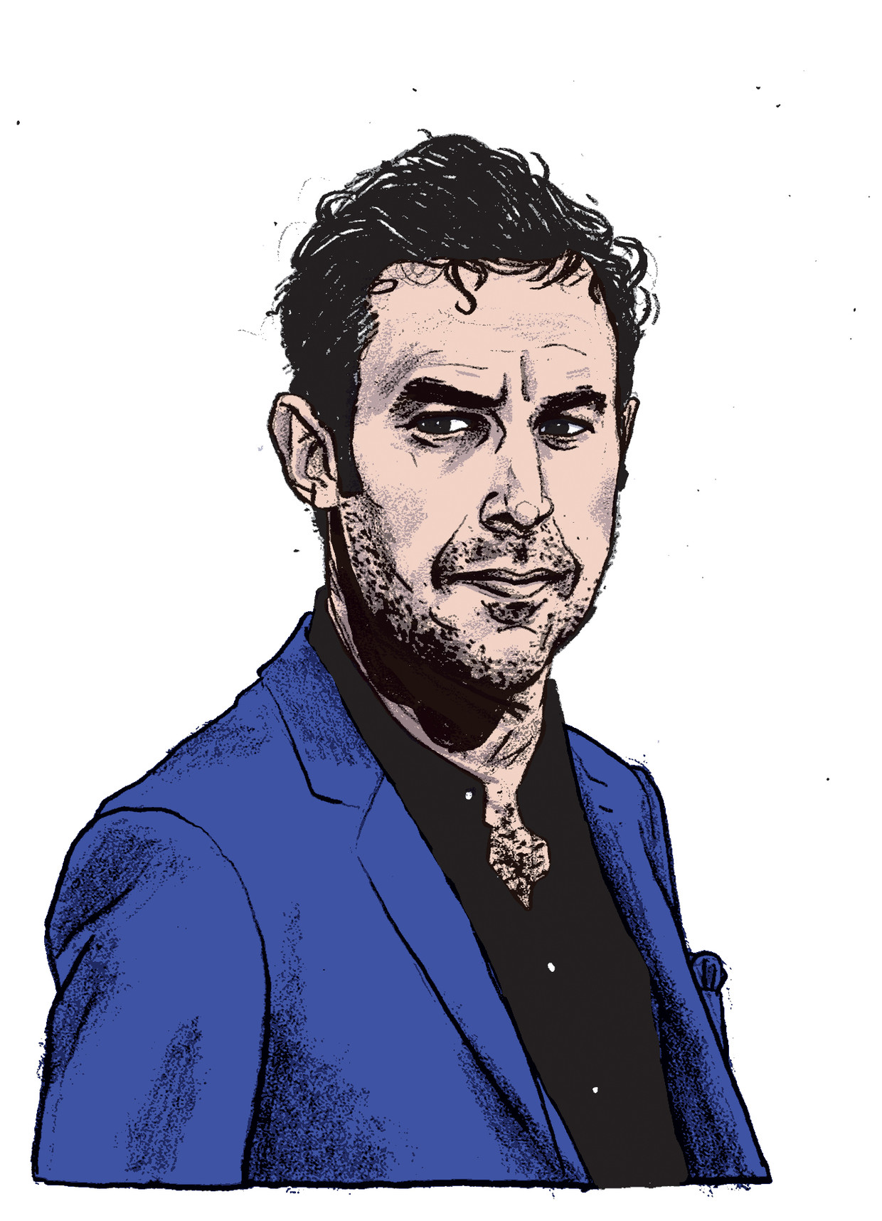 Sacha Baron Cohen. Beeld Gijs Kast
