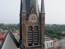 Klok Bonaventurakerk loopt waanzinnig achter