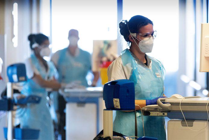 Corona-afdeling in het Catharina Ziekenhuis (archieffoto).