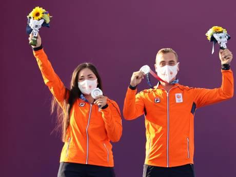 Eerste medaille is binnen! Boogschutters 'héél trots' op historisch zilver