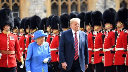 Britten niet te spreken over leugen van Trump over de Queen