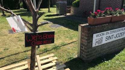 """Chiro Nele maakt wensboom voor bewoners Sint-Jozef: """"Hen een hart onder de riem steken"""""""
