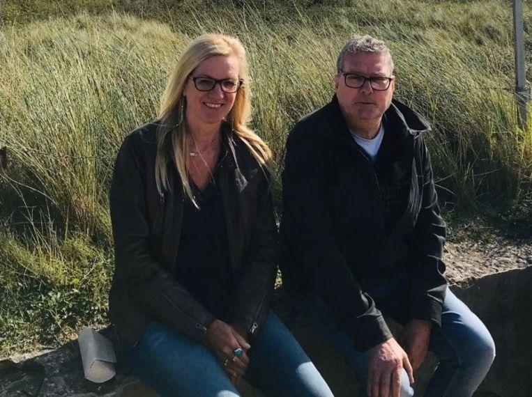 Donaat met zijn echtgenote Veerle Nuyttens.
