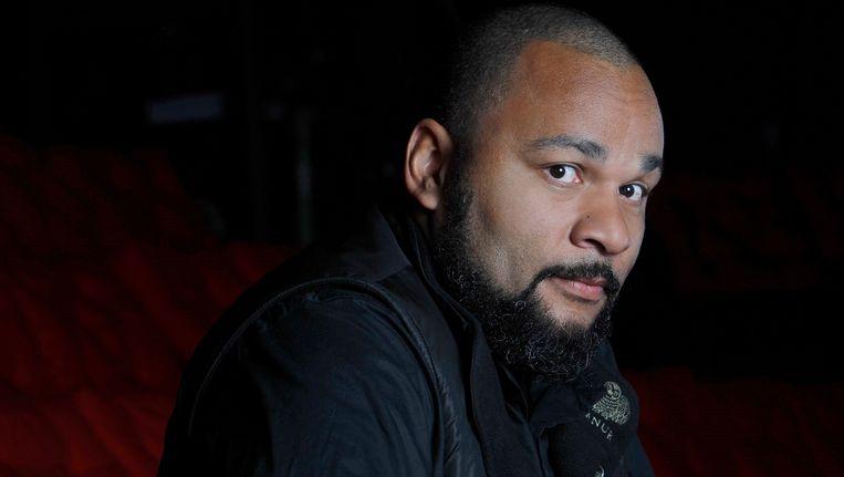 Comedian Dieudonné M'Bala M'Bala. Beeld PHOTO_NEWS