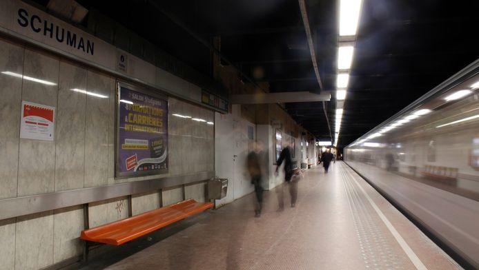 Verloren lopen in de Brusselse metro is binnenkort verleden tijd
