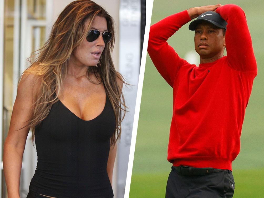 Rachel Uchitel et Tiger Woods.