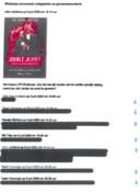 Fragment uit appverkeer van burgemeester John Jorritsma met zijn wethouders uit Wob-verzoek van raadslid Mary-Ann Schreurs. De reacties van de wethouders zijn zwart gelakt