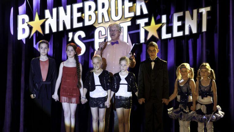 Arjan Ederveen in Bannebroek's Got Talent van Pieter Kramer Beeld