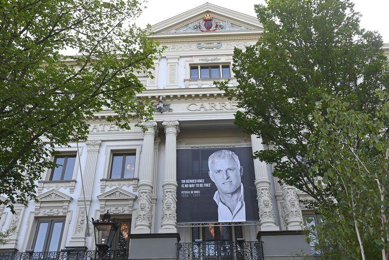 Afscheid Peter R. de Vries in theater Carré. Beeld Brunopress/Patrick van Emst