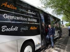 Buslijn tussen Aalten en Bocholt is een succes en wordt een vaste dienst