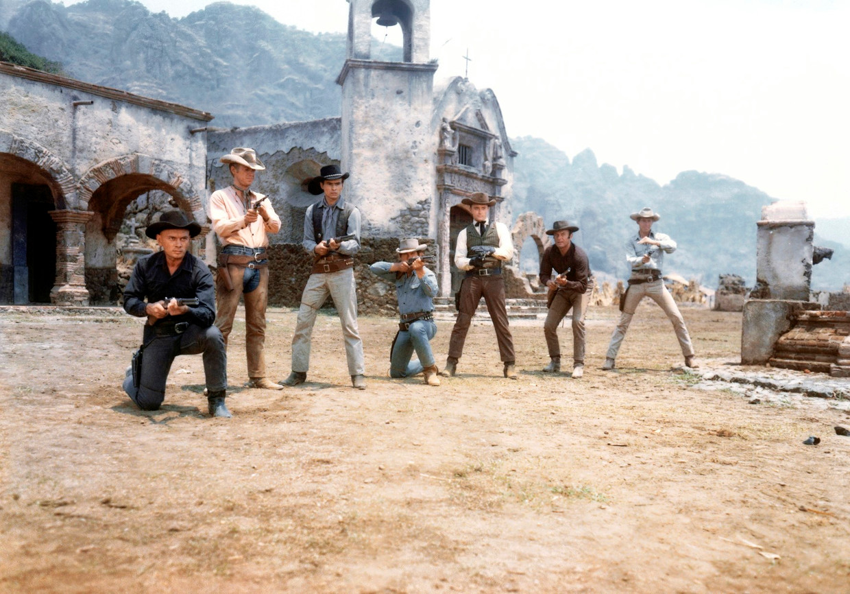 The Magnificent Seven  Beeld