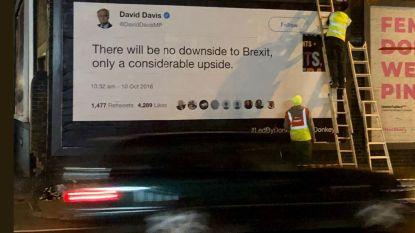 """Antibrexitcampagne in Dover brengt Britse politici in verlegenheid: """"VK wordt geleid door ezels"""""""