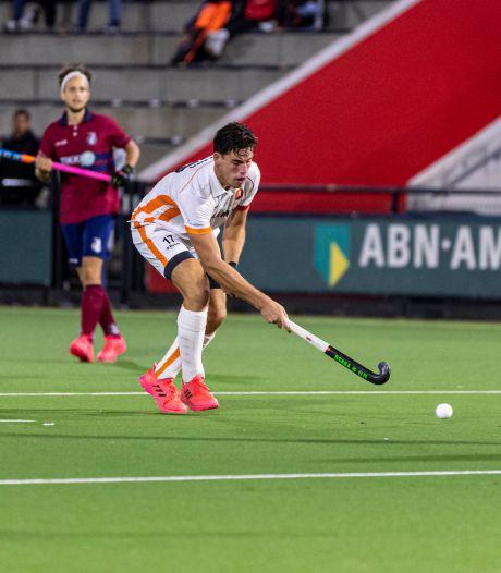Hockeymannen Oranje-Rood doen zichzelf tekort tegen HC Den Bosch
