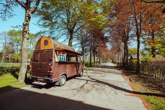 De Uitwijken-karavaan stond al op verschillende leuke plekken in Brugge.