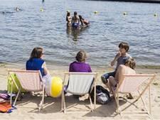 Nieuw zandstrand aan Sloterplas geopend