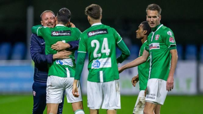 FC Dordrecht gaat tegen Den Bosch van ontreddering (0-3) naar totale euforie in blessuretijd (3-3)