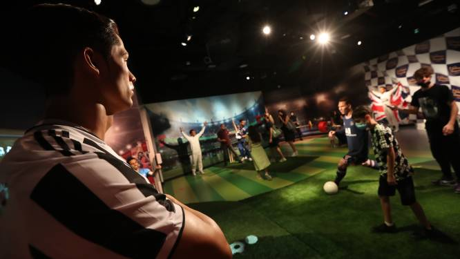 Cristiano Ronaldo porte le mauvais maillot au musée Madame Tussauds de Dubaï