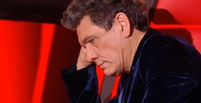 Marc Lavoine n'a pas caché sa déception à l'issue de la prestation de ses deux talents, Clara et Zacharie.