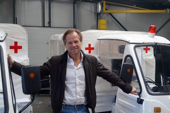 Pieter Wiemers van Dutch Health op Urk.