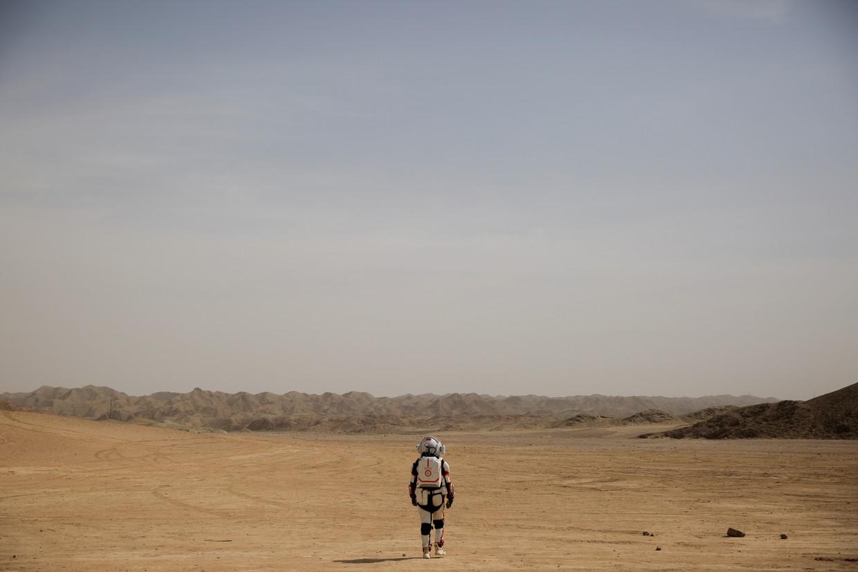 Het C-Space Project in de Chinese Gobi-woestijn wil een omgeving creëren waarin jongeren en toeristen kunnen ervaren hoe het is om op Mars te leven.
