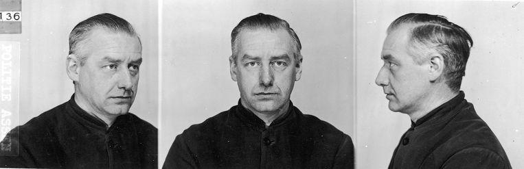 Albert Konrad Gemmeker, de voormalige nazi-commandant die vanuit het doorgangskamp Westerbork 80 duizend Joden naar de Duitse vernietigingskampen heeft gestuurd. Beeld Archief Herinneringscentrum Kamp Westerbork/NIOD